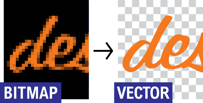 vectorize image for screen printing